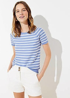 LOFT Striped Sweater Tee