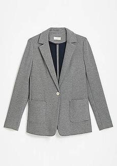 LOFT Striped Soft Knit Blazer