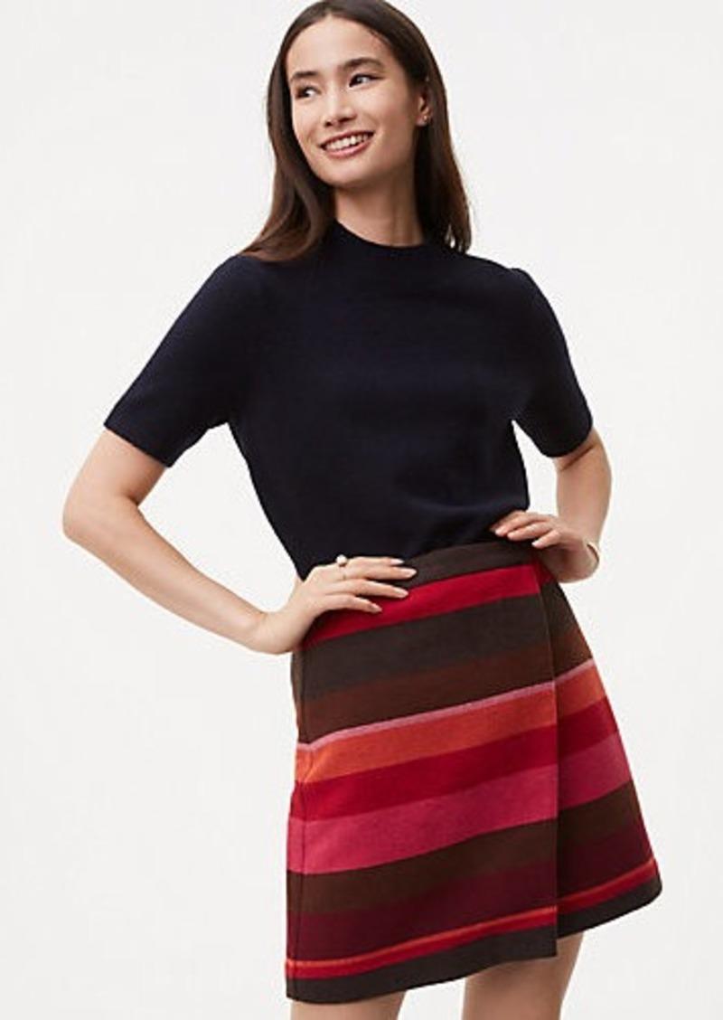 0b16487a9 LOFT Striped Wrap Skirt | Skirts