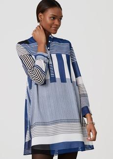 Stripeout Shirtdress