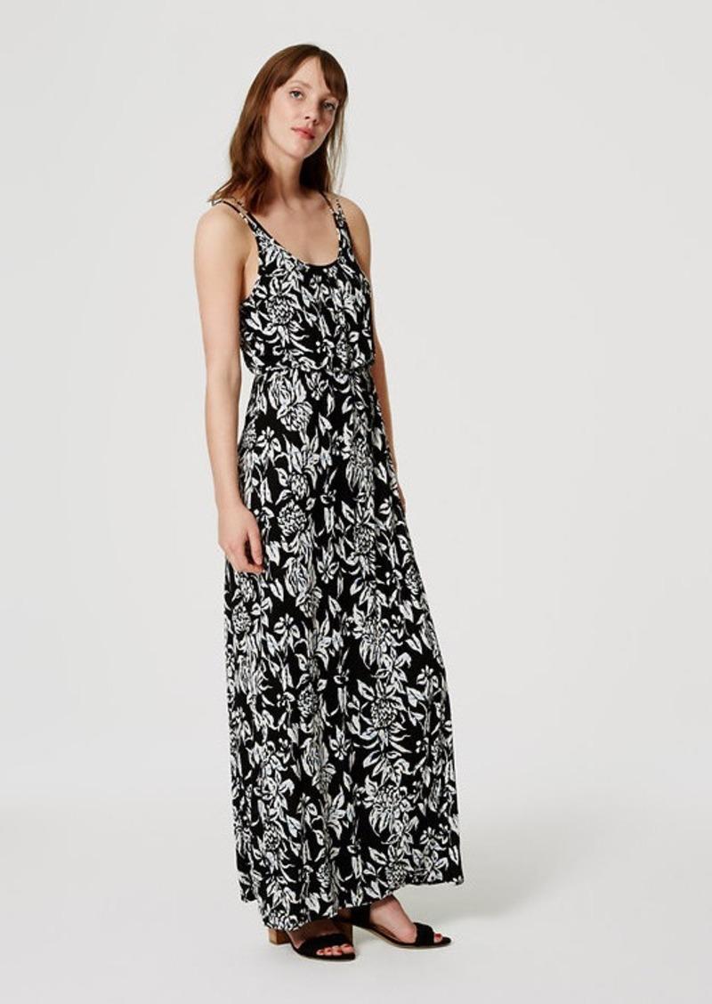 LOFT Subtropic Maxi Dress