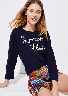 LOFT Summer Vibes Sweater