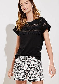 LOFT Sun Valley Fluid Drawstring Shorts