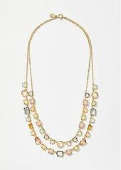 LOFT Stone Layered Necklace