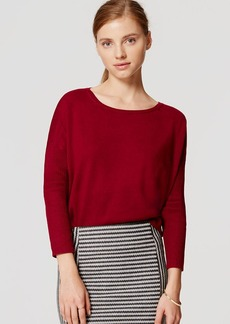 LOFT Swing Tunic Sweater