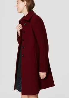 Tab Collar Coat