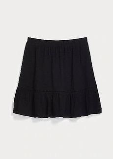 LOFT Tall Clip Tiered Skirt