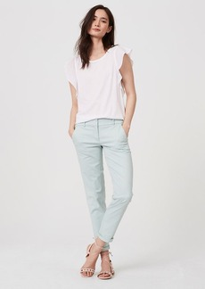 LOFT Tall Cropped Skinny Chinos