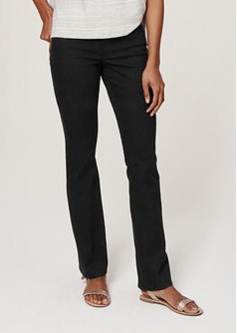 LOFT Tall Curvy Boot Cut Jeans in Black