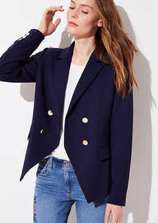 LOFT Tall Double Breasted Blazer