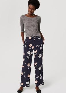 LOFT Tall Full Bloom Trousers