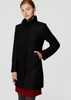 Tall Funnel Neck Coat