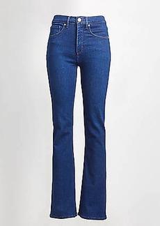 LOFT Tall High Waist Slim Flare Jeans in Bright Rinse Wash