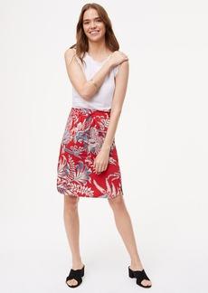 Tall Iris Drawstring Skirt