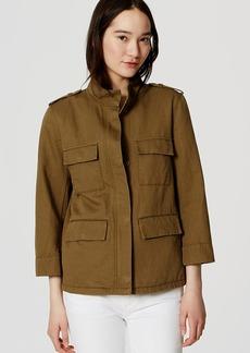 Tall Linen Cotton Cargo Jacket