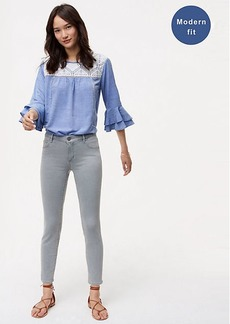 Tall Modern Skinny Jeans in Authentic Light Grey Wash