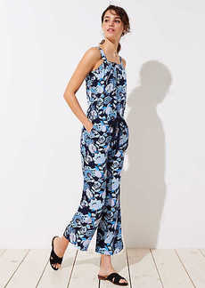 LOFT Tall Pineapple Dream Jumpsuit