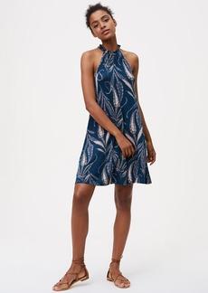 Tall Reed Halter Dress