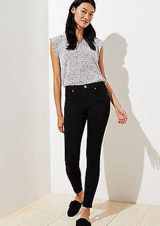 LOFT Tall Slim Pocket Skinny Jeans in Black