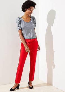 LOFT Tall Slim Tie Waist Pencil Pants in Marisa Fit