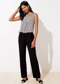LOFT Tall Doubleweave Trousers