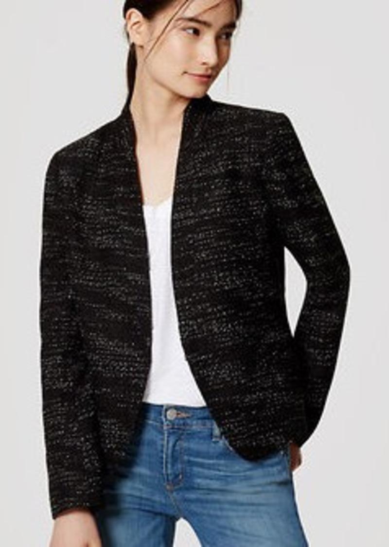 LOFT Tall Tweed Blazer