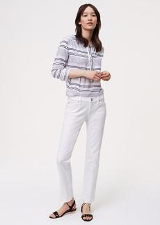 Tall Unpicked Boyfriend Jeans in White