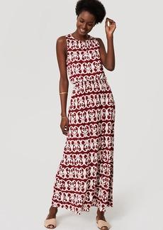 Tall Vineyard Stripe Tie Back Maxi Dress