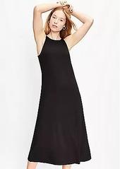 LOFT Tank Midi Dress