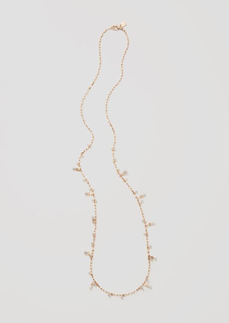LOFT Tassel Chain Necklace