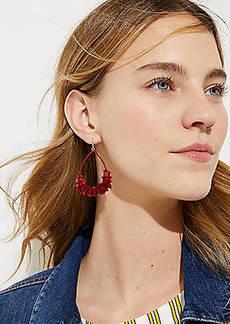 LOFT Tasseled Drop Earrings