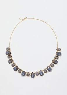 LOFT Teardrop Stone Statement Necklace