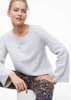 LOFT Textured Bell Sleeve Sweater