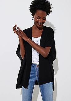 LOFT Textured Knit Kimono
