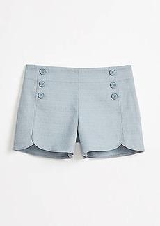 LOFT Textured Sailor Shorts