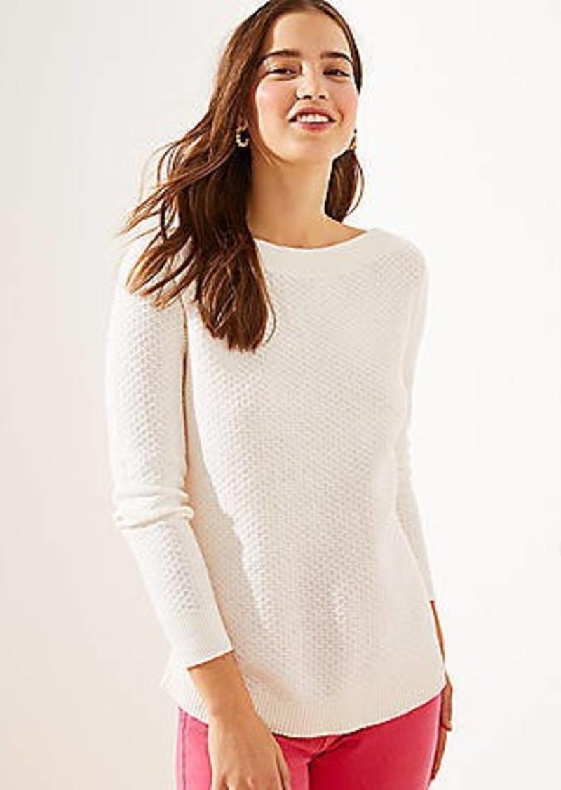LOFT Textured Tunic Sweater