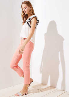 The Crop Jeans in Candied Papaya
