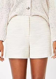 LOFT Curvy Structured Shorts