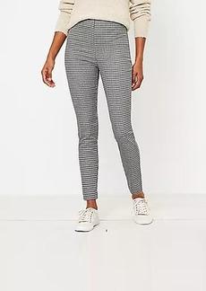 LOFT Curvy Side Zip Skinny Pants in Check