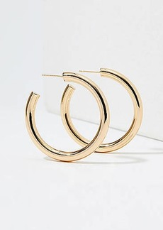 LOFT Thick Hoop Earrings
