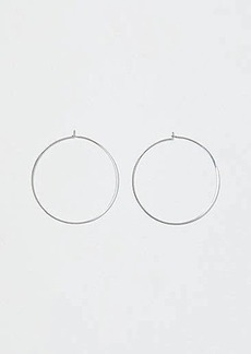 LOFT Thin Hoop Earrings