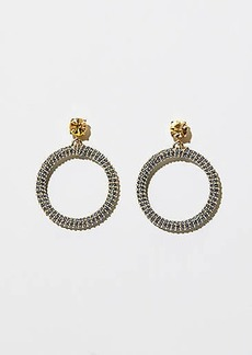 LOFT Thread Wrapped Chain Ring Earrings