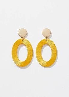 LOFT Thread Wrapped Ring Drop Earrings