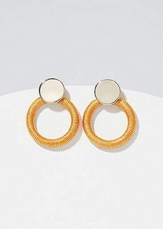 LOFT Thread Wrapped Ring Earrings