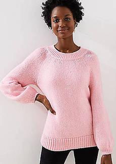 LOFT Tie Back Drapey Sweater