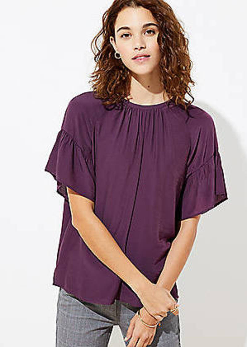 LOFT Tie Back Top