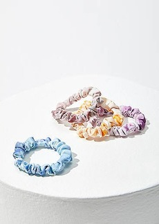 LOFT Tie Dye Mini Scrunchie Set