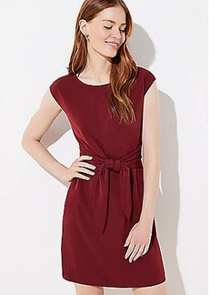 LOFT Tie Waist Pocket Dress