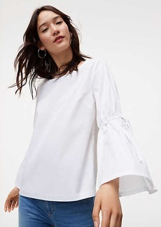 Tied Bell Sleeve Top