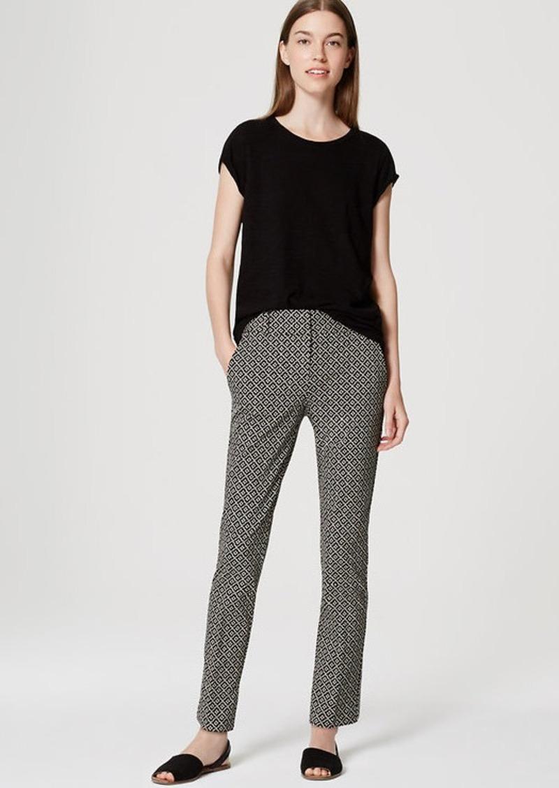 LOFT Tiled Essential Skinny Ankle Pants in Marisa Fit